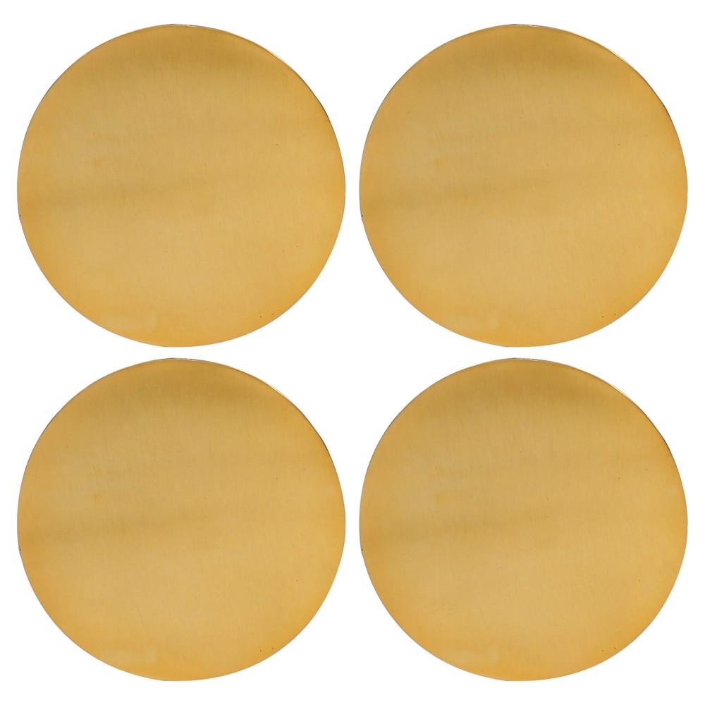 Image of Thirstystone Coasters Set of 4 - Gold