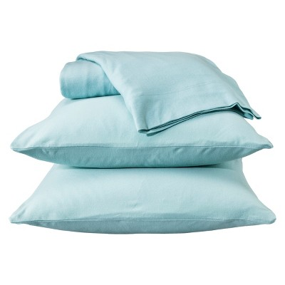 Jersey Sheet Set - (Queen)Aqua - Room Essentials™