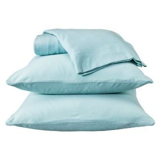 Jersey Sheet Set - (Queen) Aqua - Room Essentials™