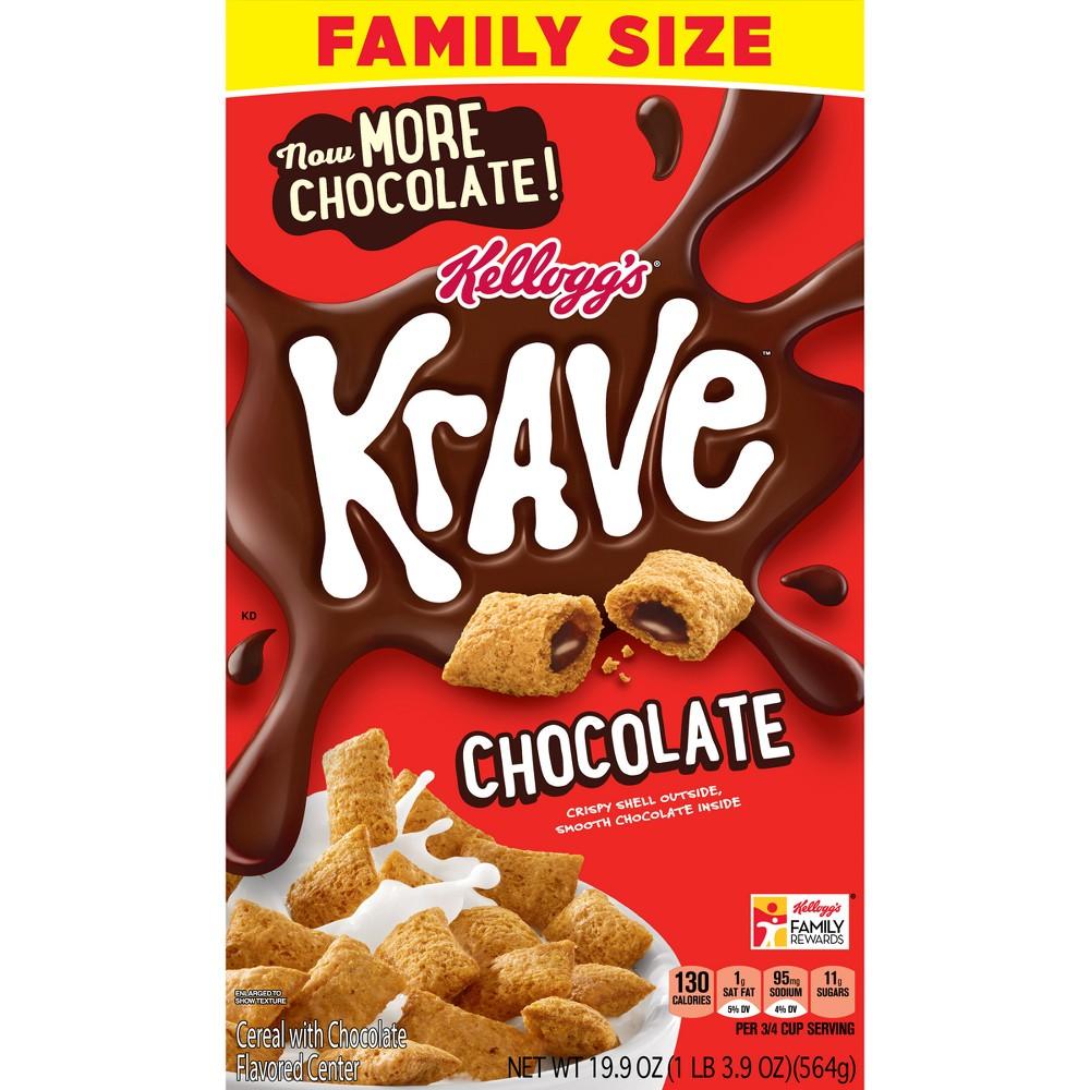 Krave Breakfast Cereal - 19.9oz - Kellogg's