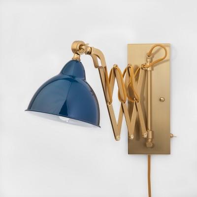 Accordian Wall Lamp - Blue - Threshold™