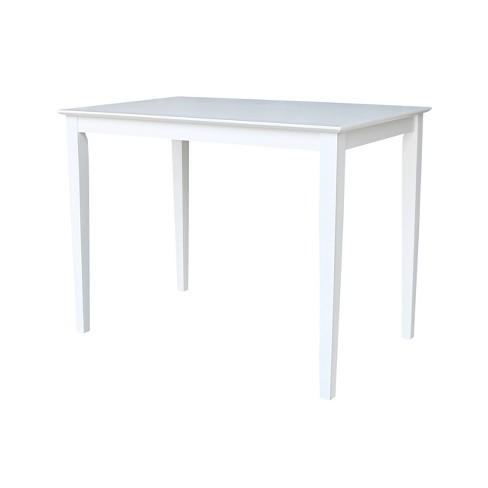 Counter Height Dining Table White