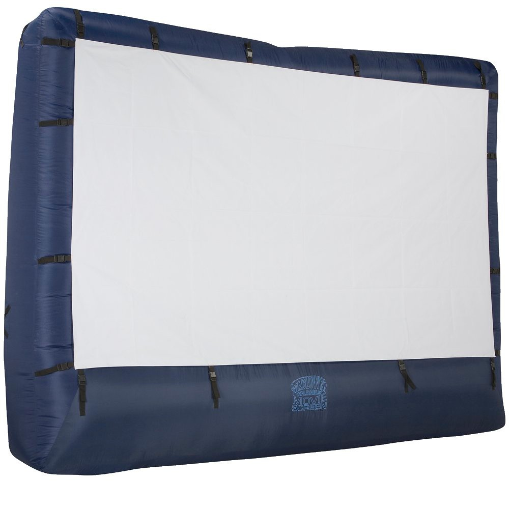 Image of Airblown Inflatable Movie Screen with Storage Bag- 12.5'