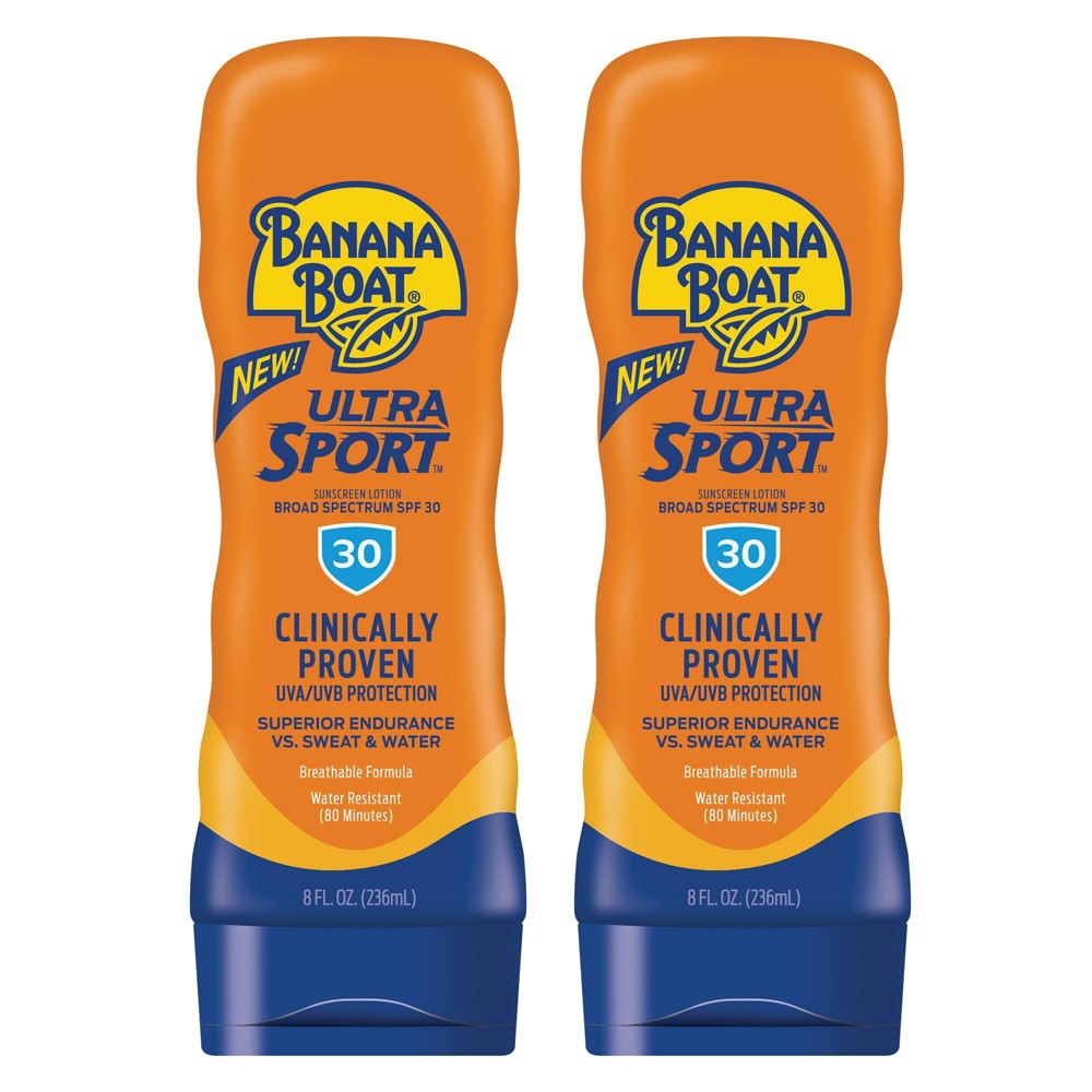 Image of Banana Boat Sport Sunscreen Lotion Twinpack - SPF 30 - 16oz