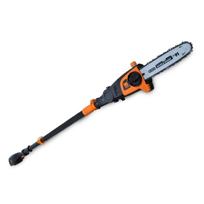 """WEN 40421 40V Max Lithium Ion 10"""" Cordless and Brushless Pole Saw with 2Ah Battery and Charger"""