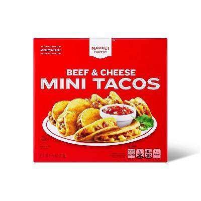 Frozen Beef & Cheese Mini Tacos - 12oz - Market Pantry™
