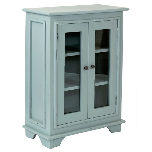 Parker Mahogany Cabinet - Grey - East At Main - image 1 of 7