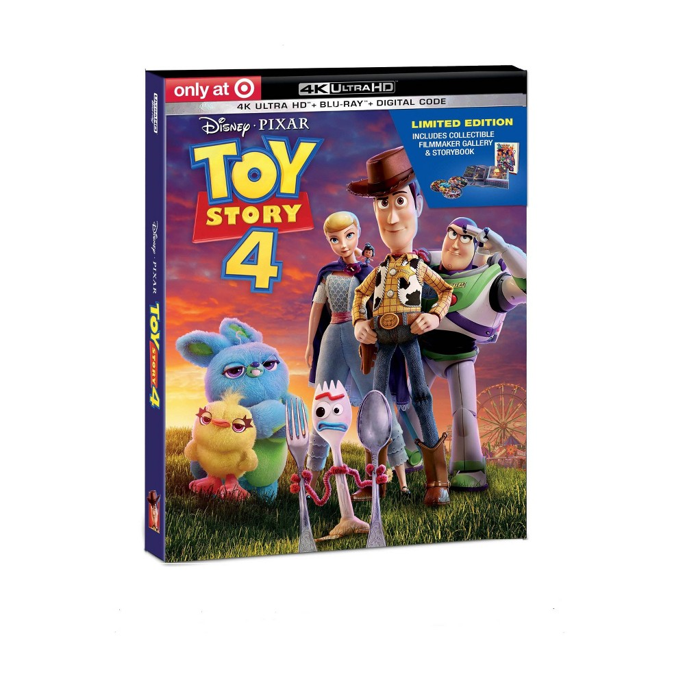 Toy Story 4 (Target Exclusive) (4K/UHD) was $34.99 now $24.49 (30.0% off)