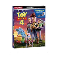 Toy Story 4 (Target Exclusive) (4K/UHD)