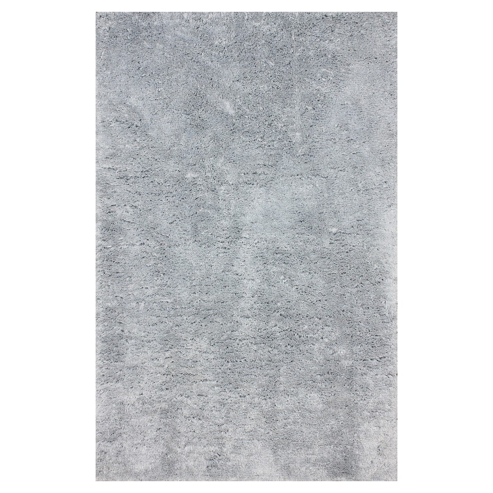 nuLOOM Hand Tufted Maginifique Shag Area Rug - Gray (6' x 9'), Light Grey