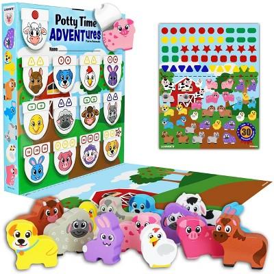 Lil Advents PottyTime Adventures Potty Training Toy - Farm Animals