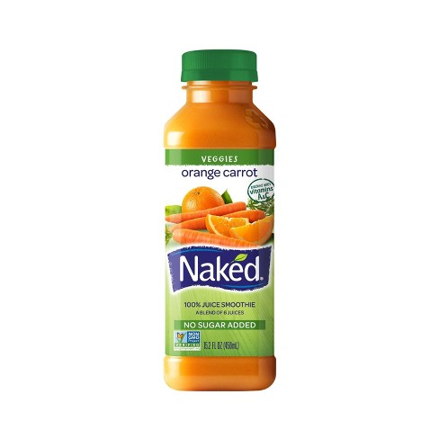 Naked Orange Carrot Juice Smoothie - 15.2oz - image 1 of 1
