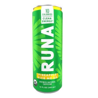 Runa Original Pineapple Energy Drink - 12 fl oz Can