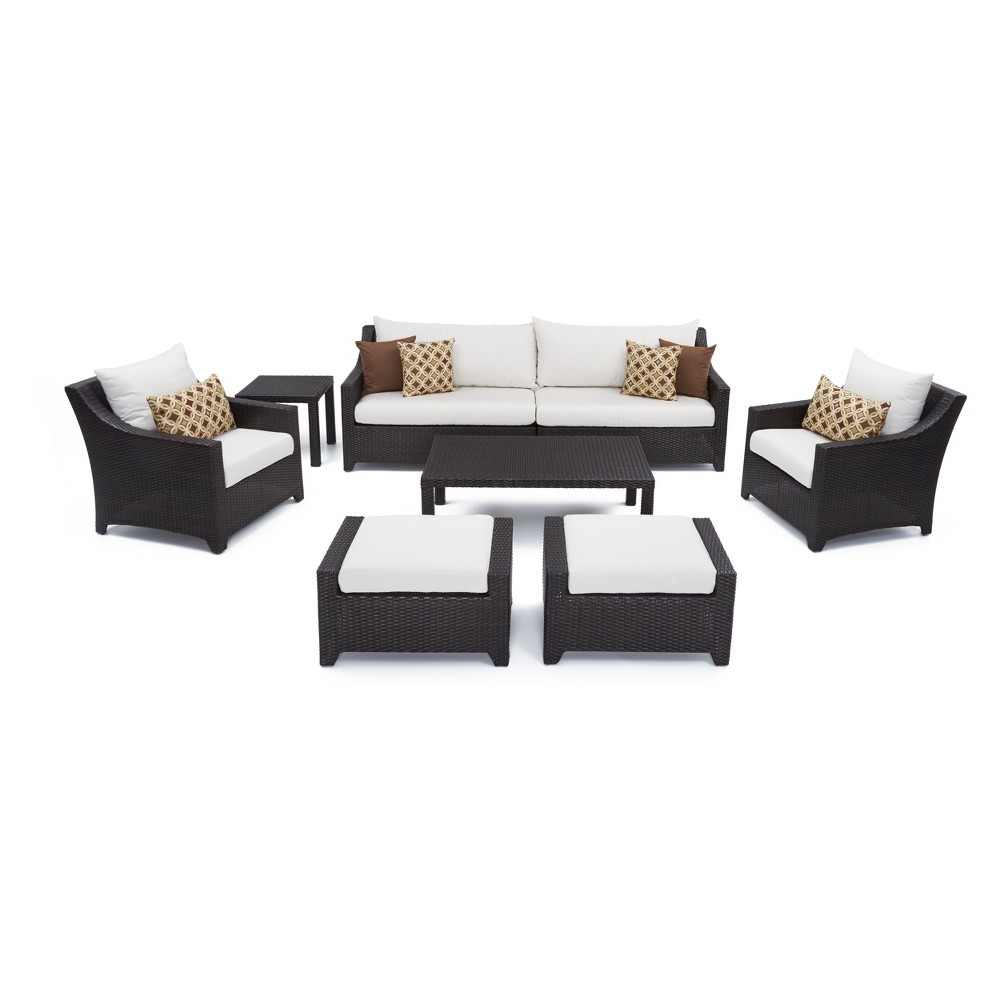 Rst Brands Deco 8-piece Sofa and Club Chair Set - Moroccan Cream