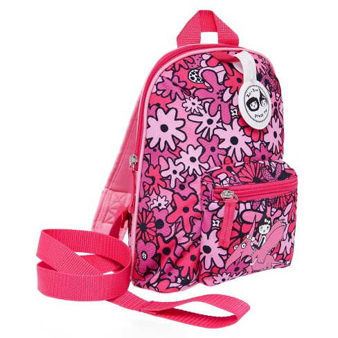 Zip   Zoe Mini Kids  Backpack   Safety Harness - Floral Pink   Target 8deb2f41a7f9c