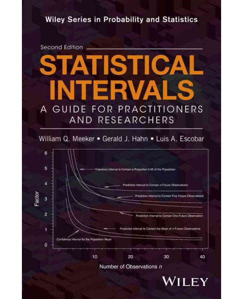 Statistical Intervals : A Guide for Practitioners and Researchers (Hardcover) (William Q. Meeker & - image 1 of 1
