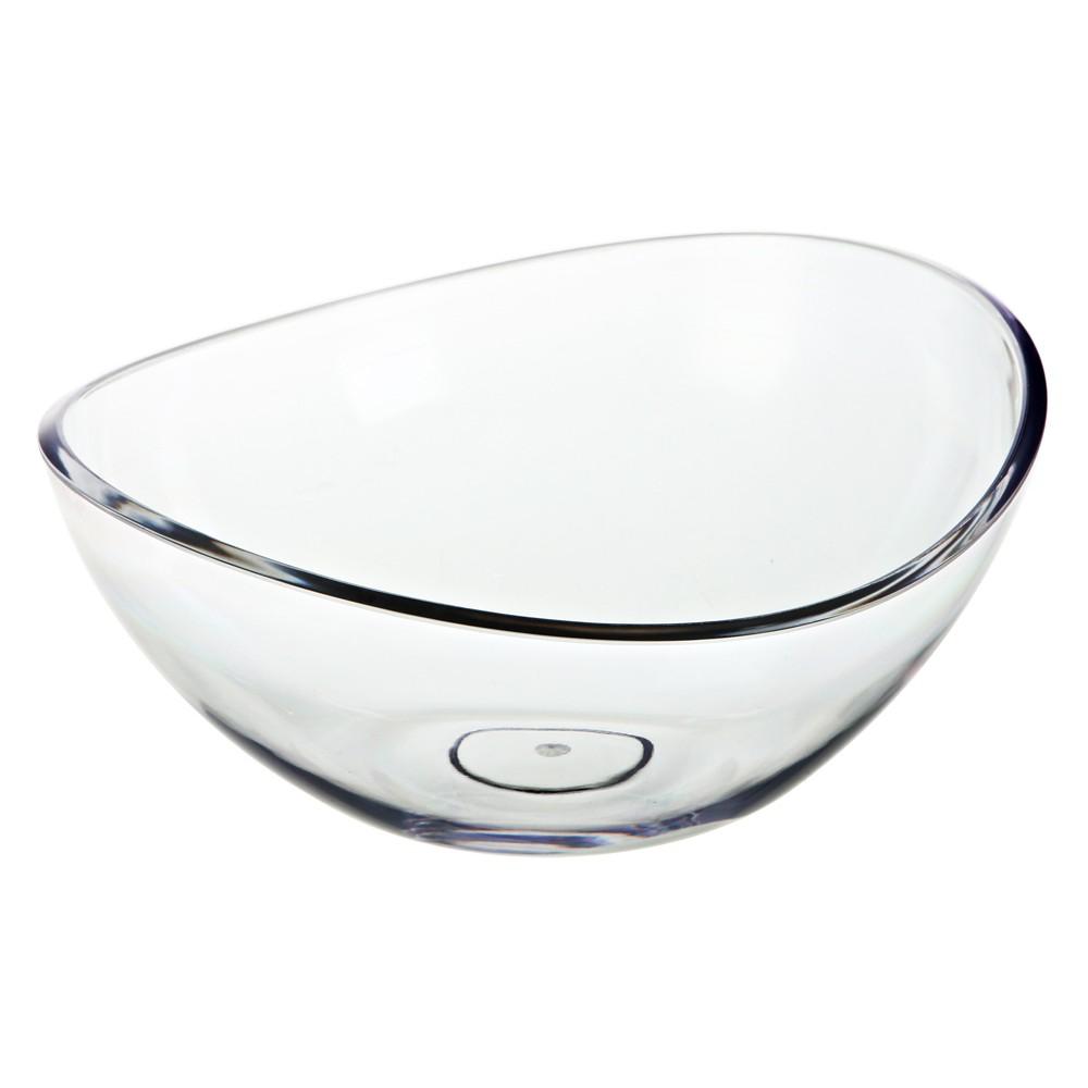 Image of Felli Bandeau Acrylic Serving Bowl 123.4oz, Clear