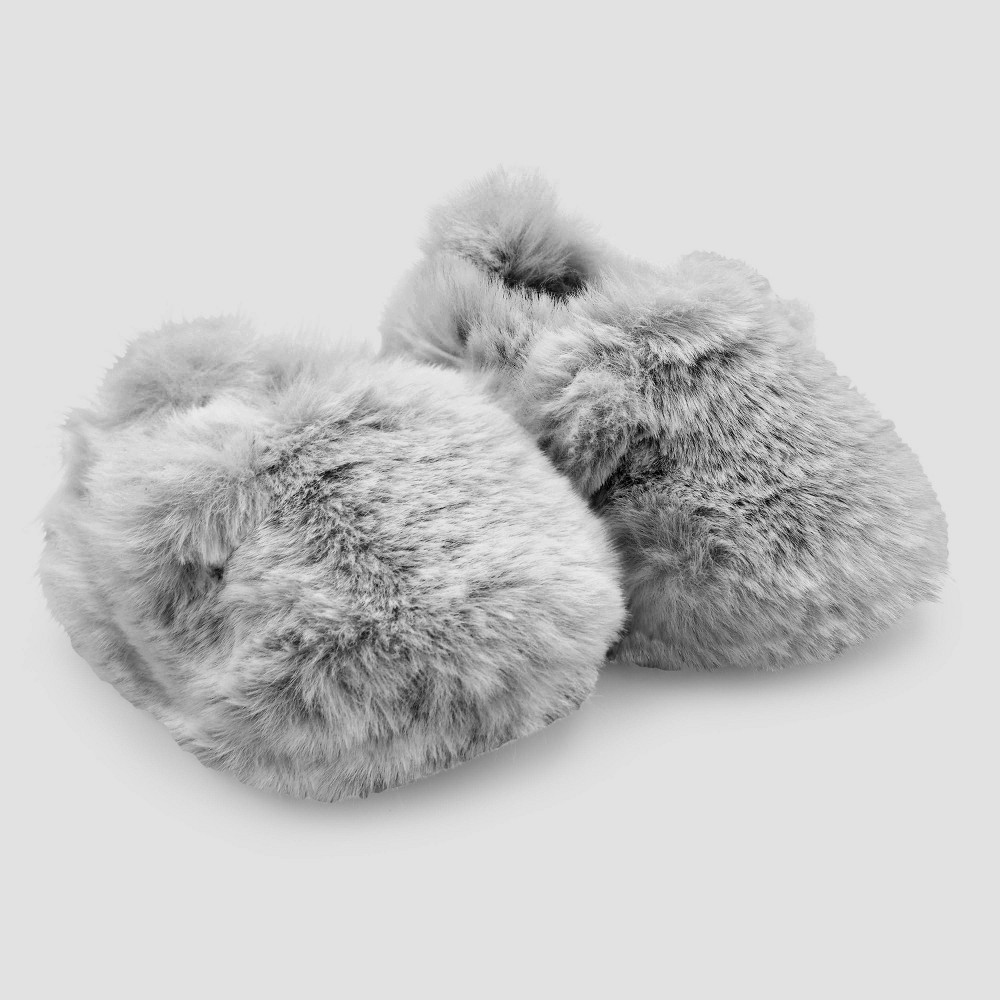 Image of Baby Boys' Bear Constructed Booties - Just One You made by carter's Ivory Newborn, Boy's, Gray