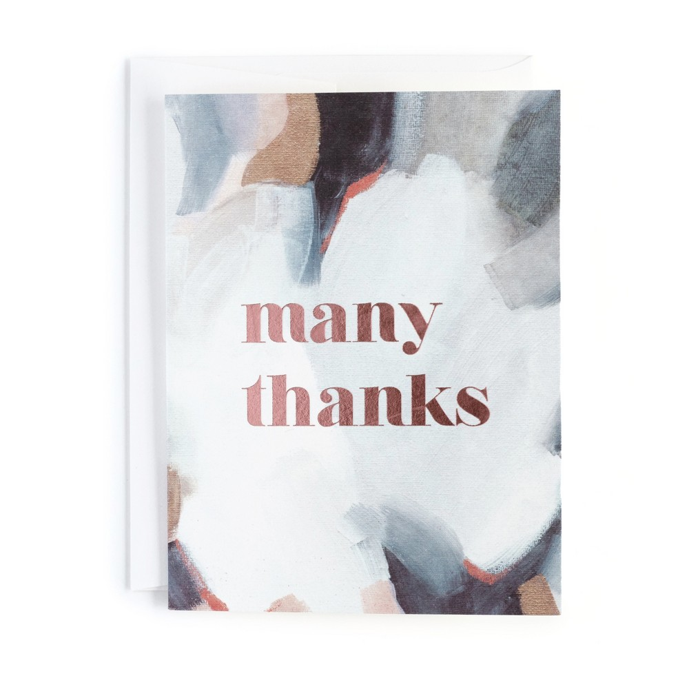 10ct Lush Composition Thank You Cards - Minted, Multi-Colored