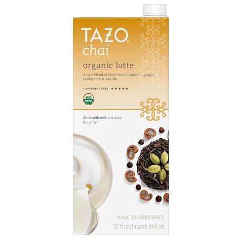 Tazo Organic Tea Latte Chai Black Tea - 32 fl oz - image 1 of 3
