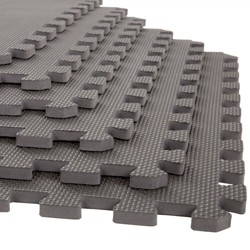 6pk Interlocking EVA Foam Floor Mats - Stalwart