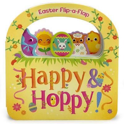 Happy & Hoppy-Lift Flap - By Redd R I (Board Book)