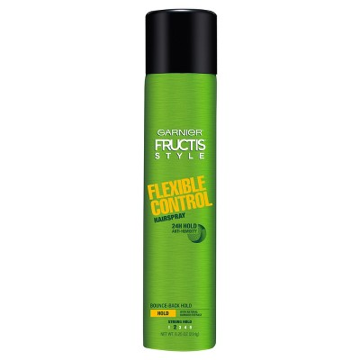 Hair Spray: Garnier Fructis Flexible Control Hairspray