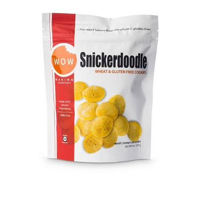 WOW Baking Company Wheat & Gluten Free Snickerdoodles - 8oz