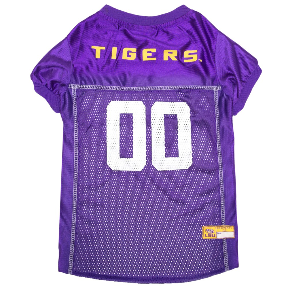 Pets First Lsu Tigers Mesh Jersey - M, Multicolored