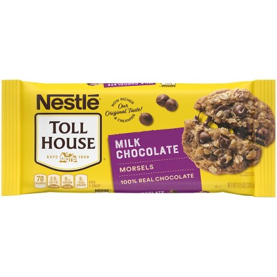 Nestle Toll House Gluten Free Milk Chocolate Chip Morsels - 11.5oz