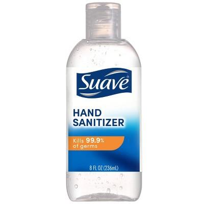Suave Hand Sanitizer Unscented - 8 fl oz