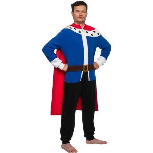FUNZIEZ! - Medieval King Slim Fit Men's Novelty Union Suit - image 1 of 4