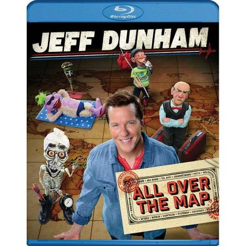 Jeff Dunham: All Over the Map (Blu-ray) - image 1 of 1