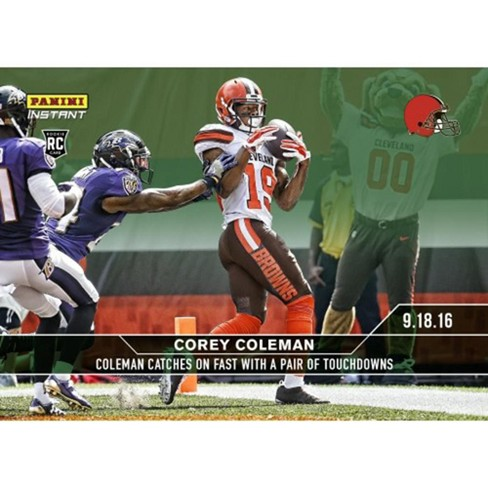 Cleveland Browns Corey Coleman 2016 Panini Instant NFL Base Card #34 - image 1 of 1