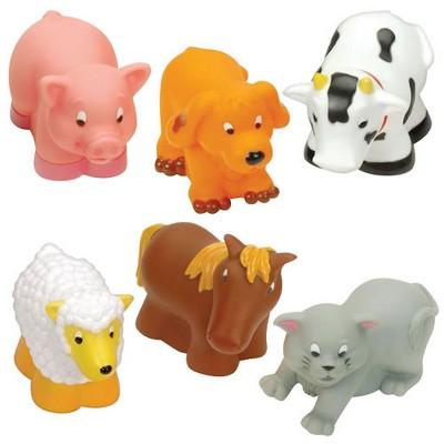 Batatt Infant and Toddler Soft Farm Buddies - Set of 6