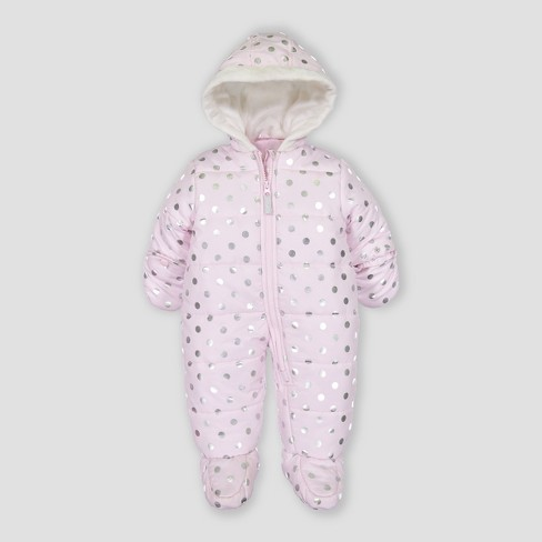 d2880528f8e2 Baby Girls  Snowsuit Just One You® Made By Carter s Pink   Target