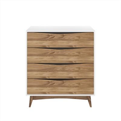 35.03  Hamilton Wide Dresser White - Manhattan Comfort