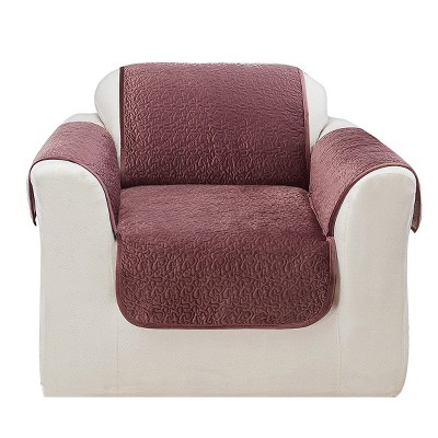 Elegant Vermicelli Chair Furniture Protector Mulberry - Sure Fit