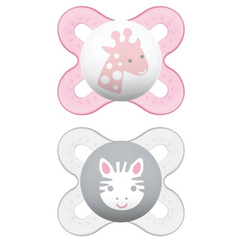 GIRL PINK MAM STYLE 0+M SOOTHER - NEW