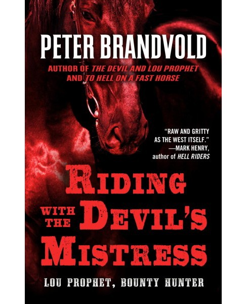 Riding with the Devil's Mistress -  Large Print by Peter Brandvold (Paperback) - image 1 of 1