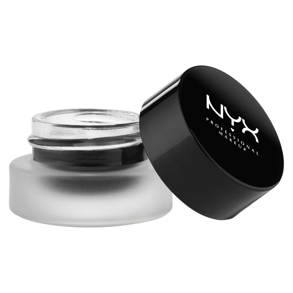 NYX Professional Makeup Gel Eyeliner & Smudger  - 0.1oz