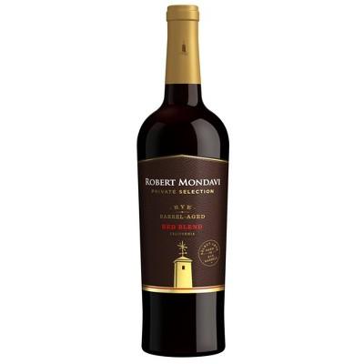 Robert Mondavi Private Selection Rye Barrel-Aged Red Blend Wine - 750ml Bottle