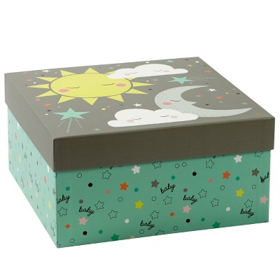 Moon and Sun Baby Shower Gift Box - Spritz™