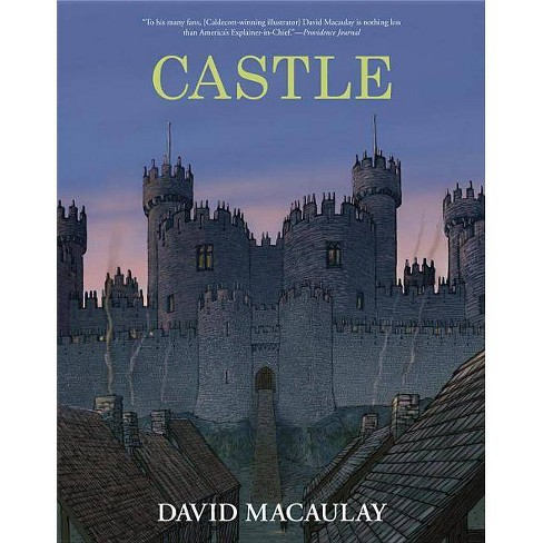Castle - by  David Macaulay (Hardcover) - image 1 of 1