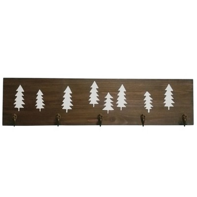 Trees Plaque with Hooks - Pillowfort™