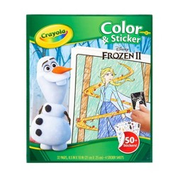 Crayola Frozen 2 Color & Sticker Book