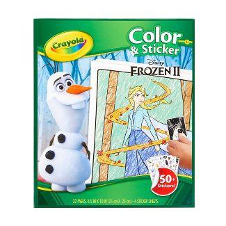 Crayola Disney Frozen 2 Color & Sticker Book