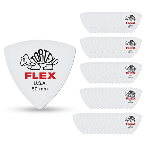 Dunlop Tortex Flex Triangle Guitar Picks - image 1 of 2