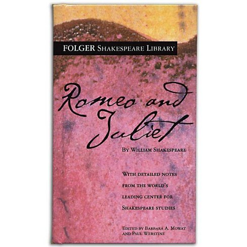 Romeo and Juliet - (Folger Shakespeare Library) by  William Shakespeare (Hardcover) - image 1 of 1