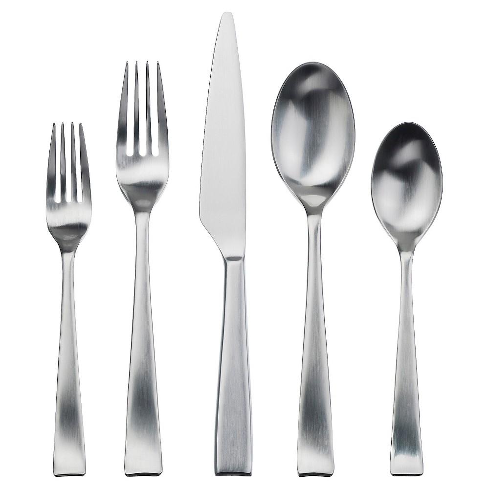 Image of Gourmet Silverware Settings Hotel 20 Piece Silverware Silverware Set